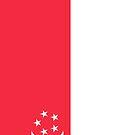 Singapore Flag by pjwuebker
