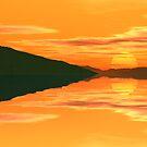 Orange Dawn by Hugh Fathers