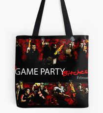 Game Party Bitches! Tote Bag