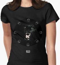 RAW**** x BLACK JAGUAR Women's Fitted T-Shirt