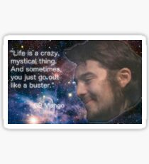Life is a Crazy Mystical Thing Sticker
