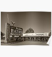 Buckhorn Baths & Motel Poster