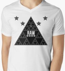 RAW**** X STAR Men's V-Neck T-Shirt