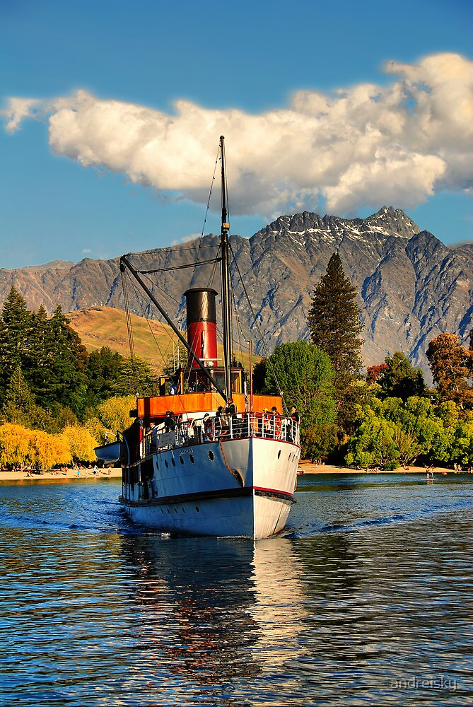TSS Earnslaw, Lake Wakatipu NZ by andreisky