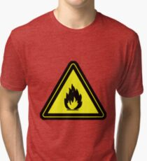 Flammable Tri-blend T-Shirt