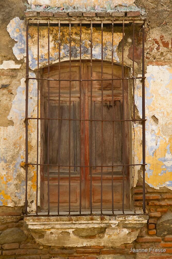 Doorway in Antiqua by Jeanne Frasse
