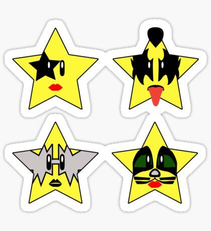 Super (Rock) Stars Sticker
