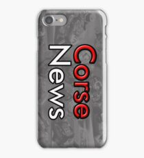 CorseNews Support us iPhone Case/Skin