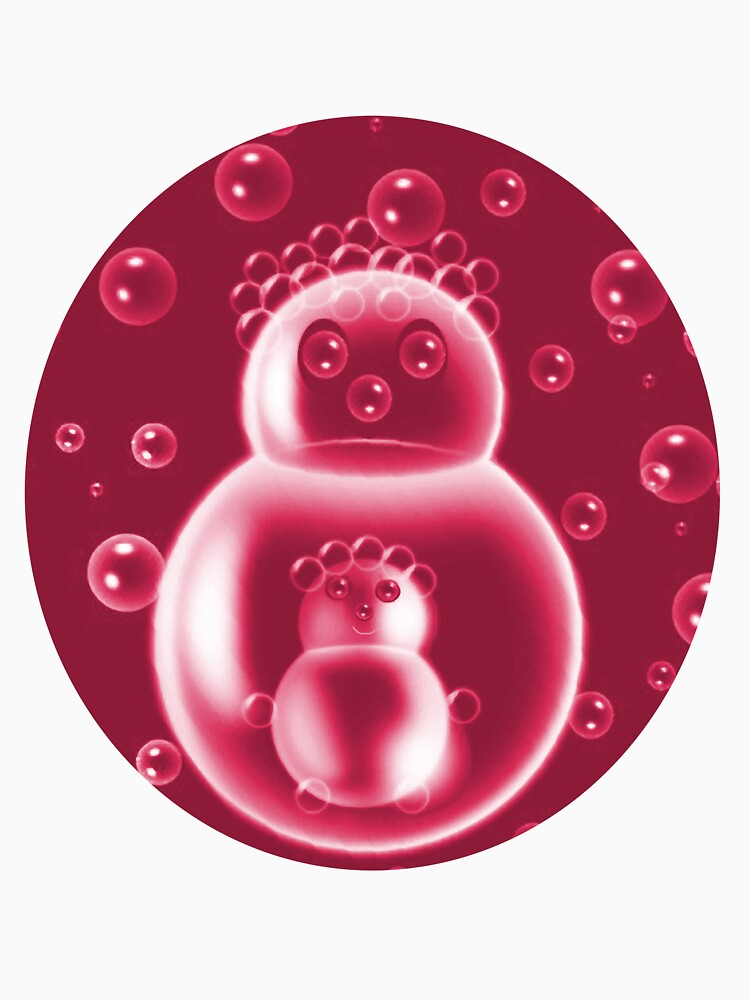 ✾◕‿◕✾REDBUBBLES MOM AND BABY BUBBLE CHILDRENS TEE SHIRT✾◕‿◕✾ by Rapture777