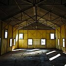 Inside the Church, Newcastle Waters NT by Dilshara Hill