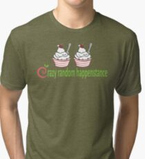 Dr. Horrible Crazy Random Happenstance Tri-blend T-Shirt
