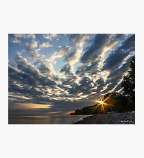 Sunrise Sky Photographic Print