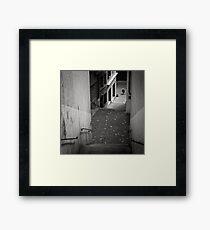 Stairs - Zurich, Switzerland Framed Print