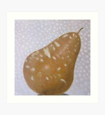 Pear Winter - 1 of 4 in a series Art Print