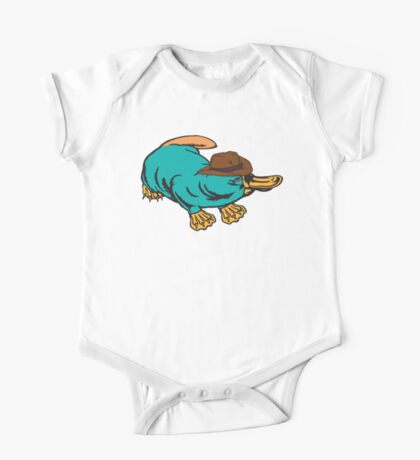 Real Life Perry the Platypus Kids Clothes