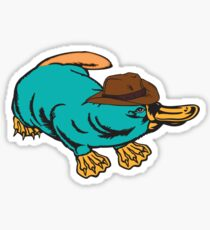Real Life Perry the Platypus Sticker