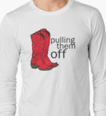 How I met your mother Pulling them off Long Sleeve T-Shirt