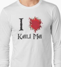 Indiana Jones I love Kali Ma Long Sleeve T-Shirt