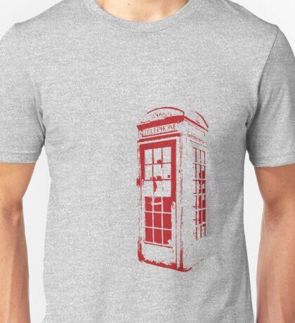 English Phonebooth Unisex T-Shirt