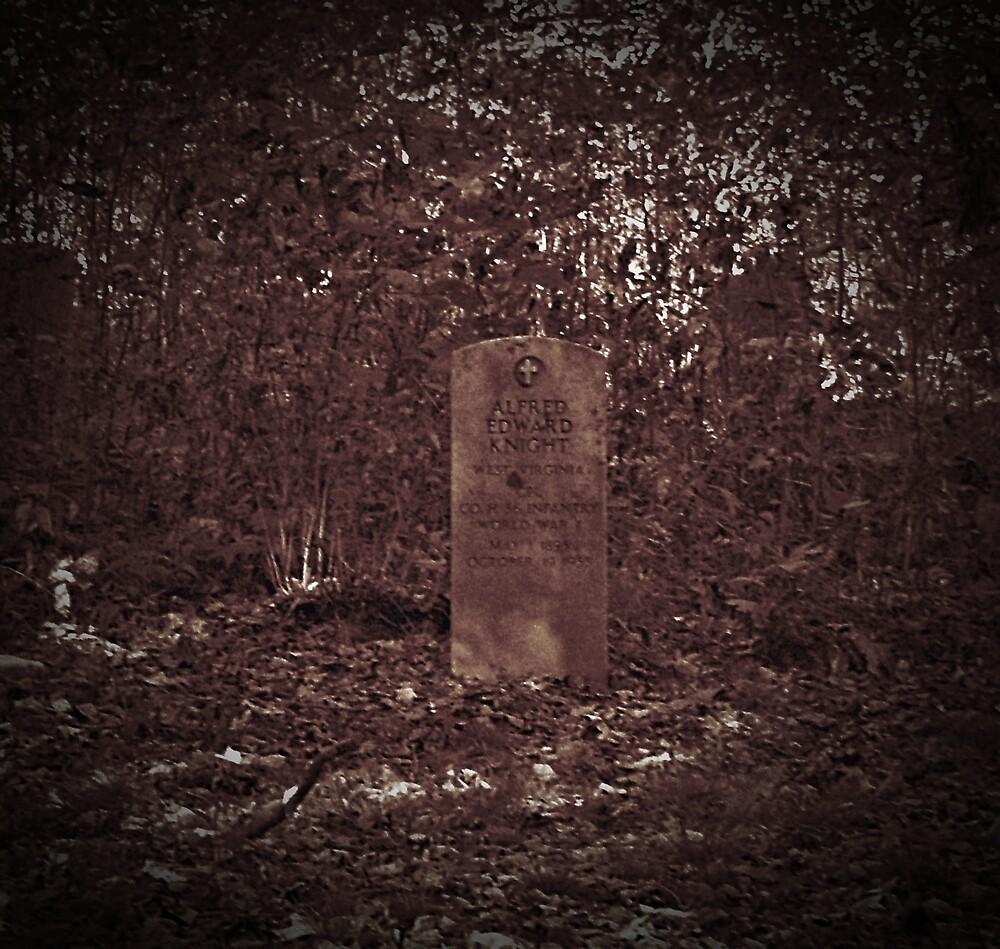 Fallen Knight by Paul Lubaczewski