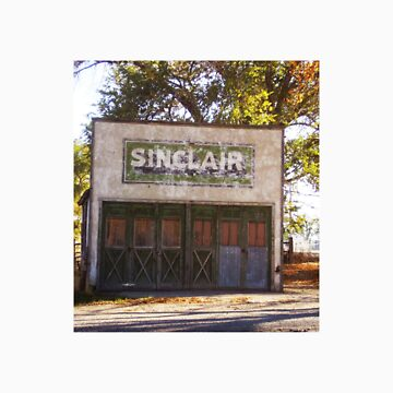 Old Sinclair Station by mirjenmom