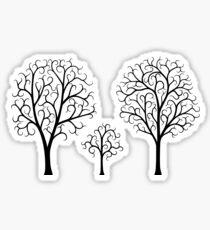 Small Tree Family Sticker