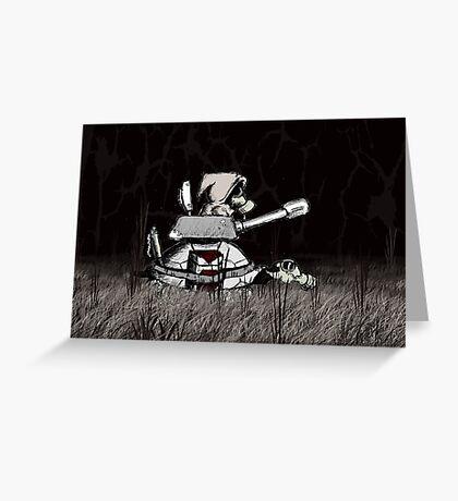 Apocalypse - War VRS2 Greeting Card