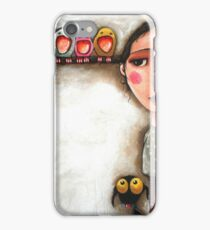 Me and my birds iPhone Case/Skin