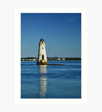 Cockspur Island Lighthouse Art Print