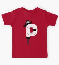 P is for Pirate V2 Kids Clothes