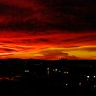Sunset Over L. A. by Mike Herdering