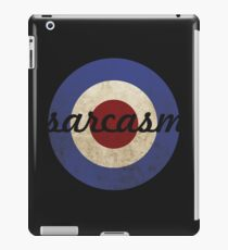 Sarcasm iPad Case/Skin