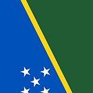 Soloman Islands Flag by pjwuebker