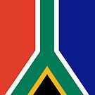 South Africa Flag by pjwuebker