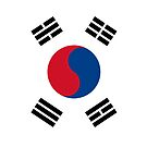 South Korea Flag by pjwuebker