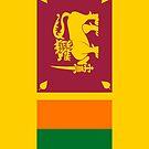 Sri Lanka Flag by pjwuebker