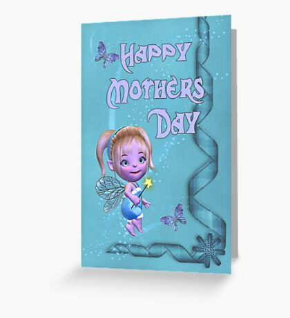 Happy Mothers Day .. fantasy fairy Greeting Card