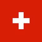 Switzerland Flag by pjwuebker