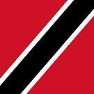 Trinidad and Tobago Flag by pjwuebker