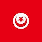 Tunisia Flag by pjwuebker