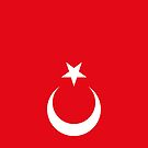 Turkey Flag by pjwuebker