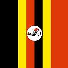 Uganda Flag by pjwuebker