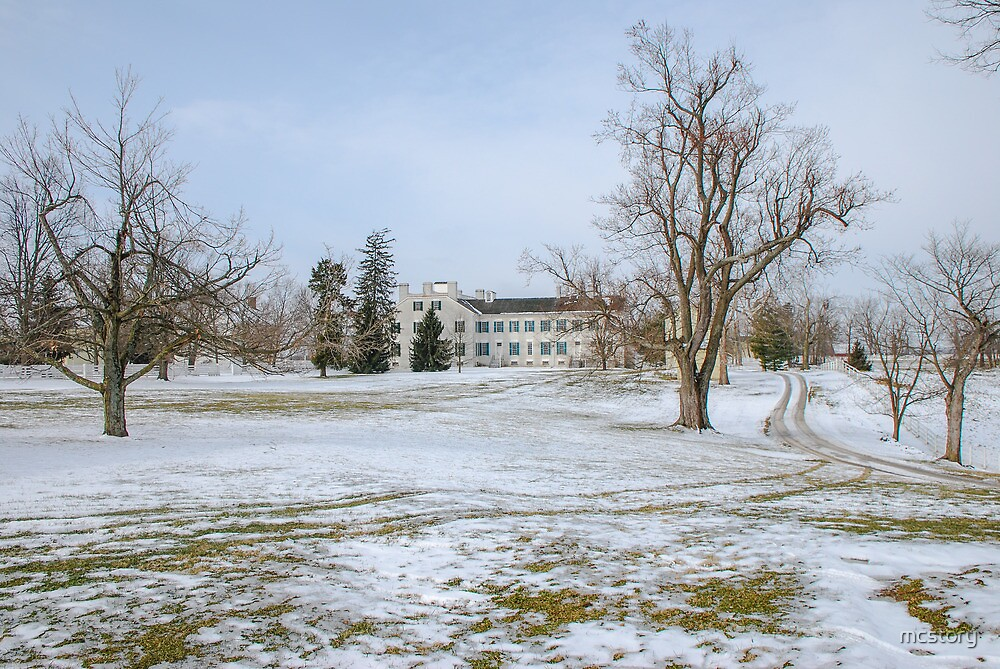 Centre Family Dwelling - Shaker Village by Mary Carol Story