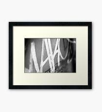 wonderwall [b&w] Framed Print