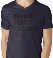 WTF (over) Men's V-Neck T-Shirt