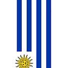 Uruguay Flag by pjwuebker