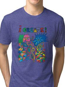 i Create On Track Tri-blend T-Shirt