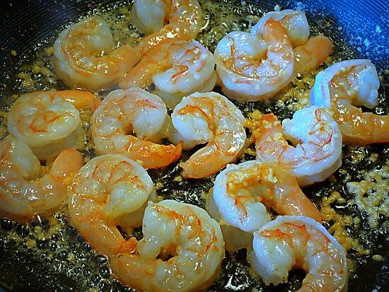 MMM Garlic Shrimp by Diane Arndt