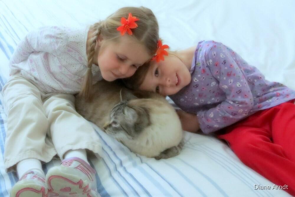 Emma, Bella, and Scottie by Diane Arndt
