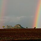 Gemini Peaks Rainbows by Stephen  Nicholson
